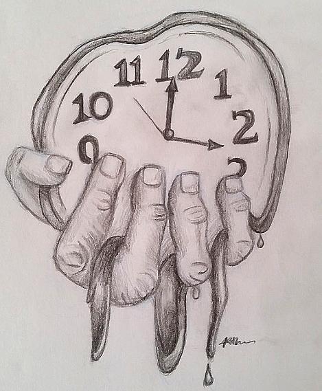 melting clocks related keywords - photo #19