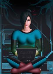 Scarlett - Gamer girls skin by Nomad1