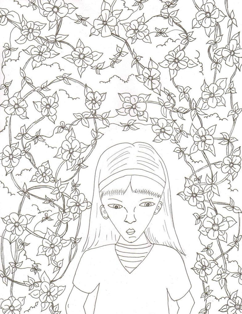 Secret Garden Coloring Book Heart Coloring Pages