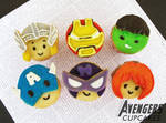 The Avengers Character Cupcakes
