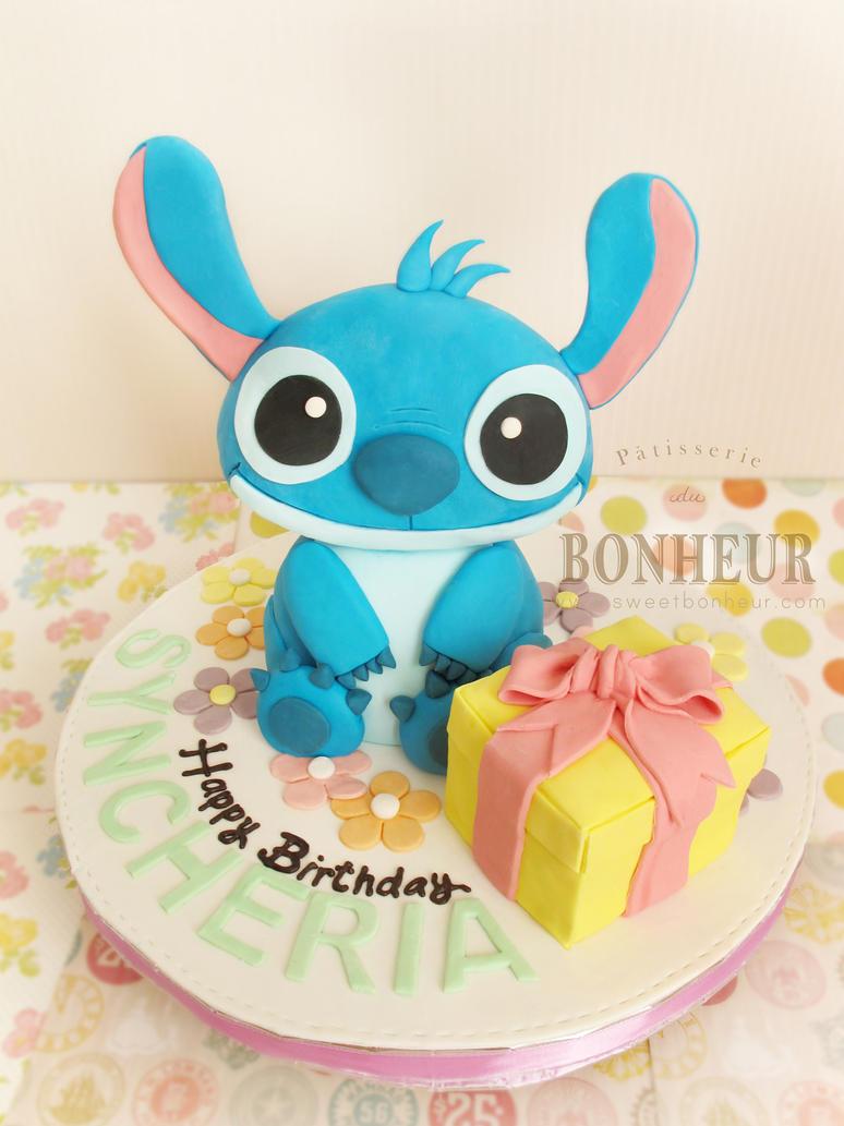 Happy Birthday Knitting Cake : Stitch happy birthday cake images