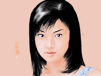 Kyoko Fukada by BlaztDesign