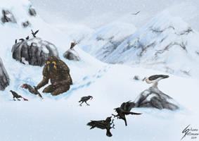 Yeti habitat by Dragunalb