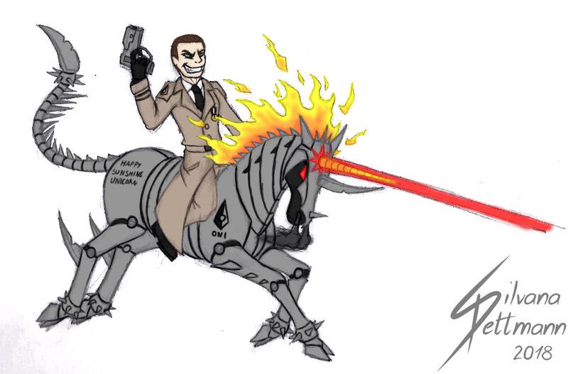 Lexy and his unicorn of doom