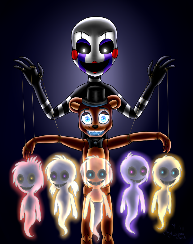 Another puppet five nights at freddy s by artyjoyful on deviantart