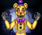 Nightmare Fredbear (five Nights at Freddy's 4)