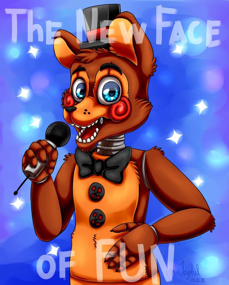 Toy Freddy (Five Nights At Freddy's 2) By ArtyJoyful On