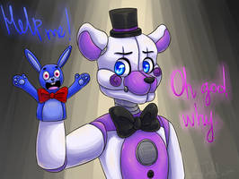 Funtime Freddy (FNaF: Sister Location) by ArtyJoyful