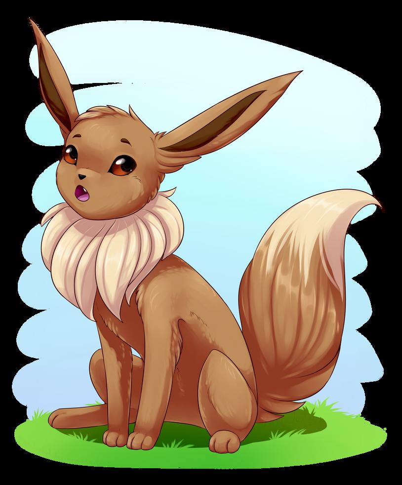 Eevee! (Pokemon) by ArtyJoyful