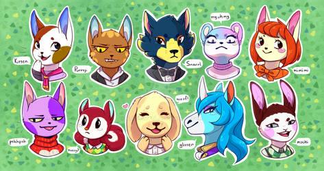 Island residents (Animal Crossing: New Horizons)
