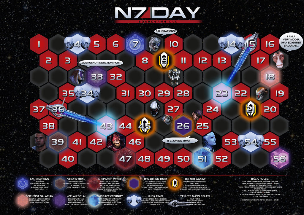 FREE FUN N7 day tabletop DLC! by Ronamis