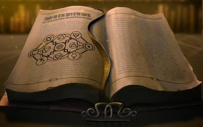 Azathoth Wakes - Library Table