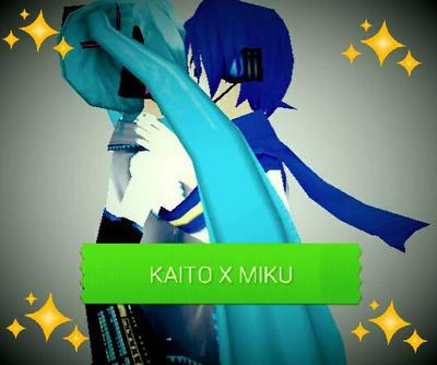 Kiss ~ [KAITOXMIKU] by GreenTomboyGirl2009