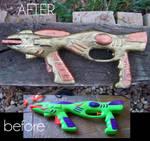 Steampunked Gun
