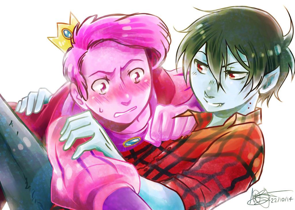 Prince Gumball x Marshall Lee - Sai by mangarainbow