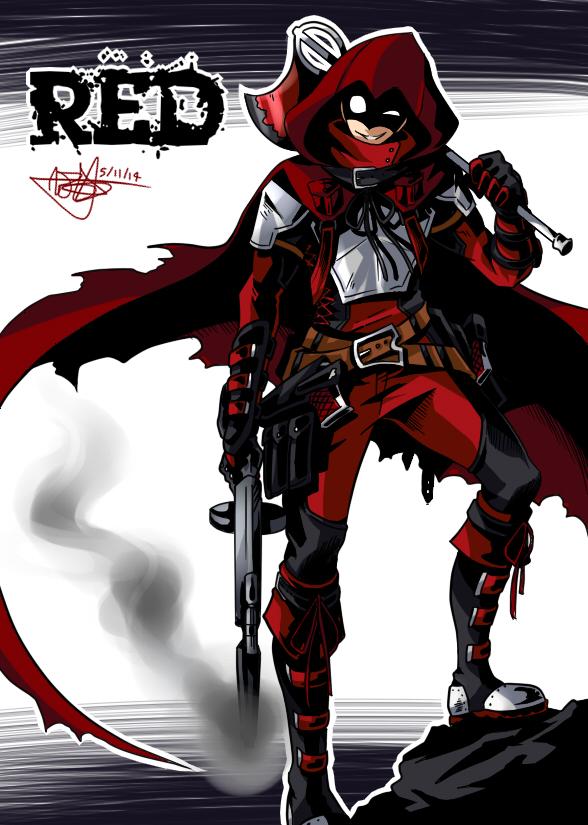 Storybook Heroes - Red by mangarainbow