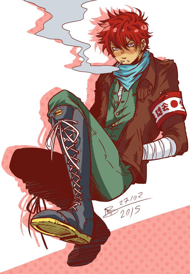 Random character design - Ryouji by mangarainbow