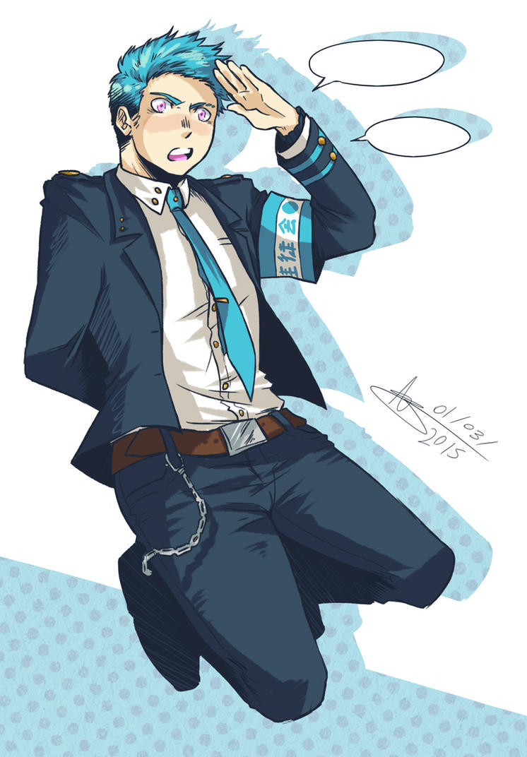 Random Character Design - Izu by mangarainbow
