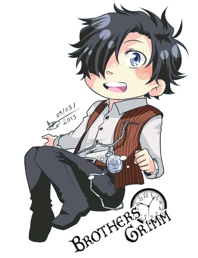 Brothers Grimm - Yuki - Chibi vector by mangarainbow