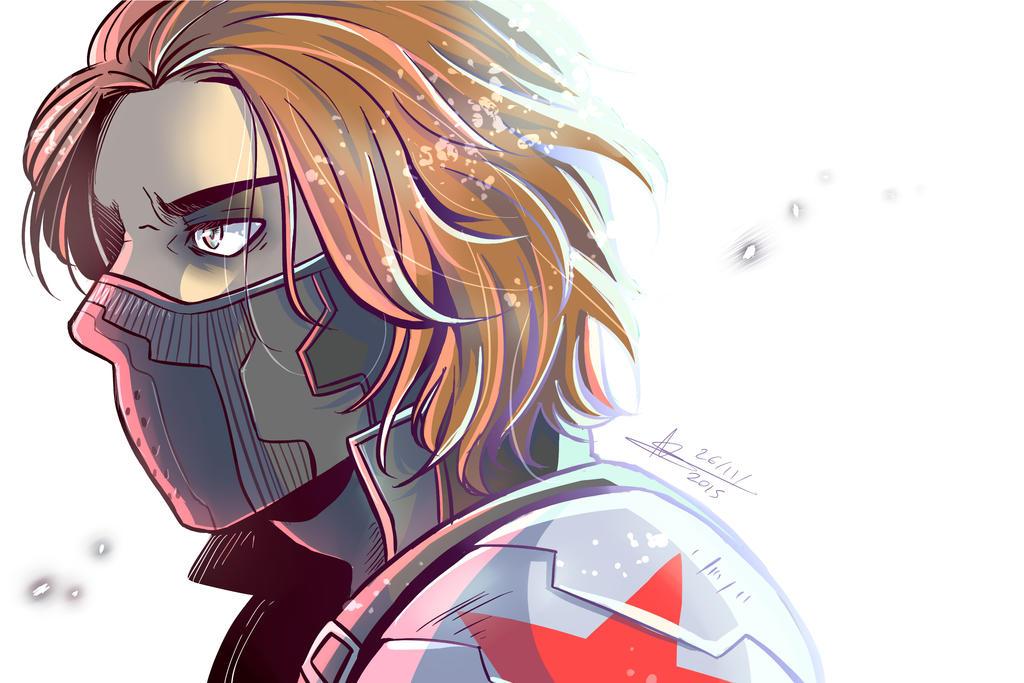 Bucky by mangarainbow