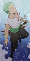 One Piece - Zoro - Underwater