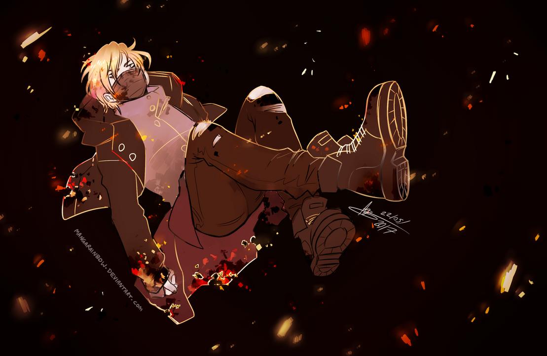 Smoke and Ash by mangarainbow
