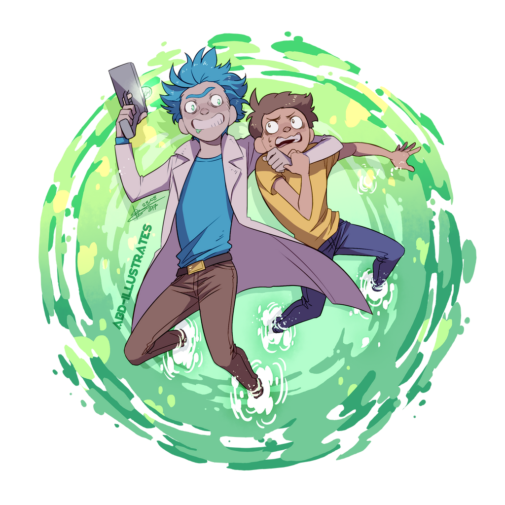rick and morty图片