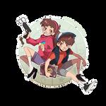 Gravity Falls - Pine Twins