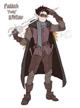 Paddy Whitlaw - Dungeons and Dragons character