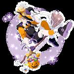 Trick or Treat - Halloween Sticker [SPEEDPAINT]