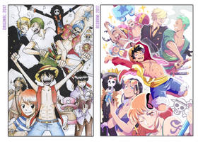 Old Art redraw: ONE PIECE! by ABD-illustrates