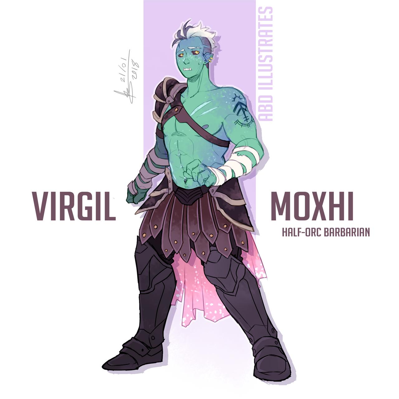 Character Design Dnd : Dnd character design virgil by abd illustrates on deviantart