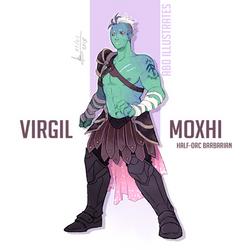 DnD character design: Virgil