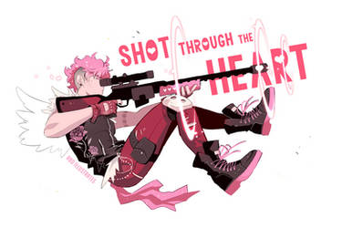 Shot through the Heart - [SPEEDPAINT] by ABD-illustrates