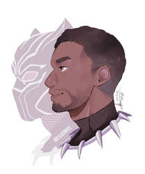 Black Panther - T'challa - [SPEEDPAINT]
