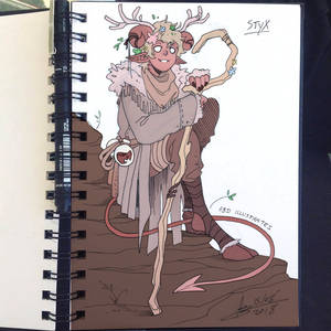 DnD Character Sketch - STYX