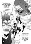 DnD doodle - High Hopes Low Rolls: Manga Scene