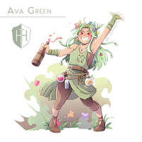 High Hopes Low Rolls: Ava [SPEEDPAINT] by ABD-illustrates