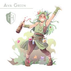 High Hopes Low Rolls: Ava [SPEEDPAINT] by ABD-illustrates