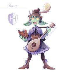 High Hopes Low Rolls: Brio [SPEEDPAINT]