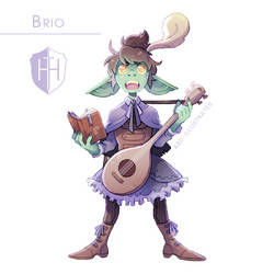High Hopes Low Rolls: Brio [SPEEDPAINT]