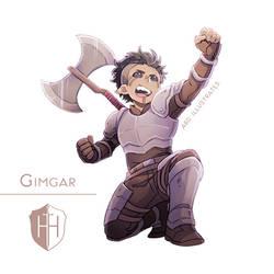 High Hopes Low Rolls: Gimgar [SPEEDPAINT]