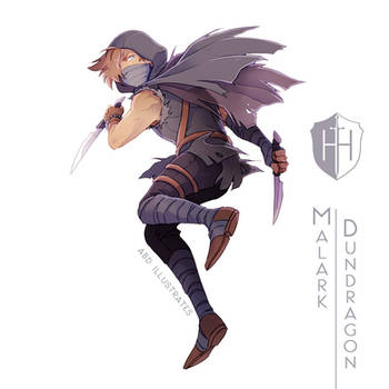 High Hopes Low Rolls: Malark Dundragon[SPEEDPAINT] by ABD-illustrates