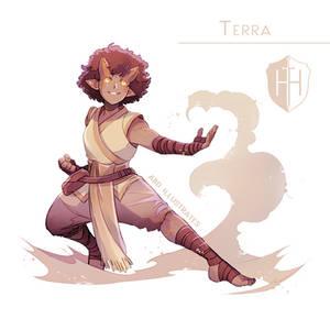 High Hopes Low Rolls: Terra [SPEEDPAINT]