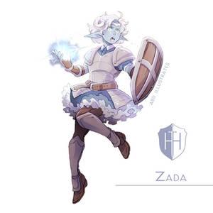 High Hopes Low Rolls: Zada [SPEEDPAINT]