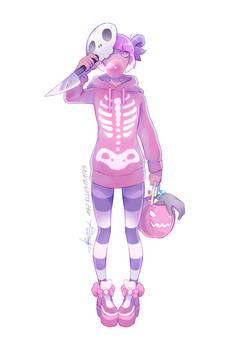 Skelegirl [SPEEDPAINT]