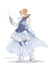 Cinderella the Warlock | Disney and Dragons by ABD-illustrates