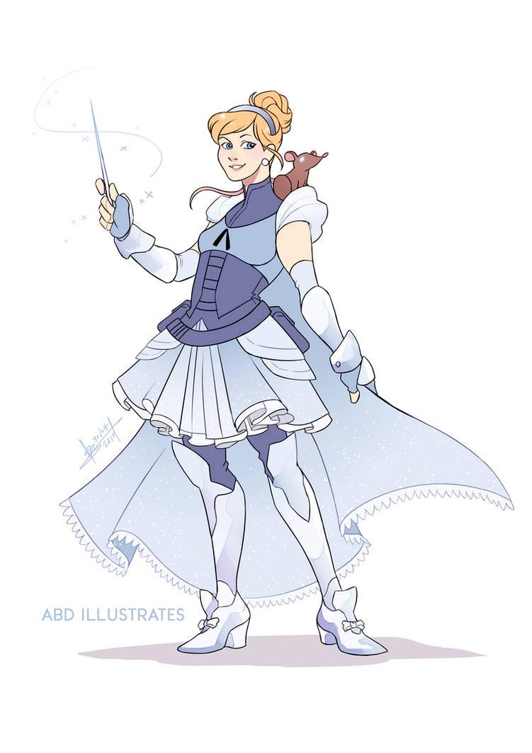 Cinderella the Warlock | Disney and Dragons by ABD-illustrates