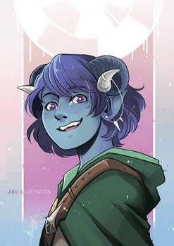 Little Sapphire [SPEEDPAINT]