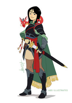 Mulan the Fighter   Disney and Dragons